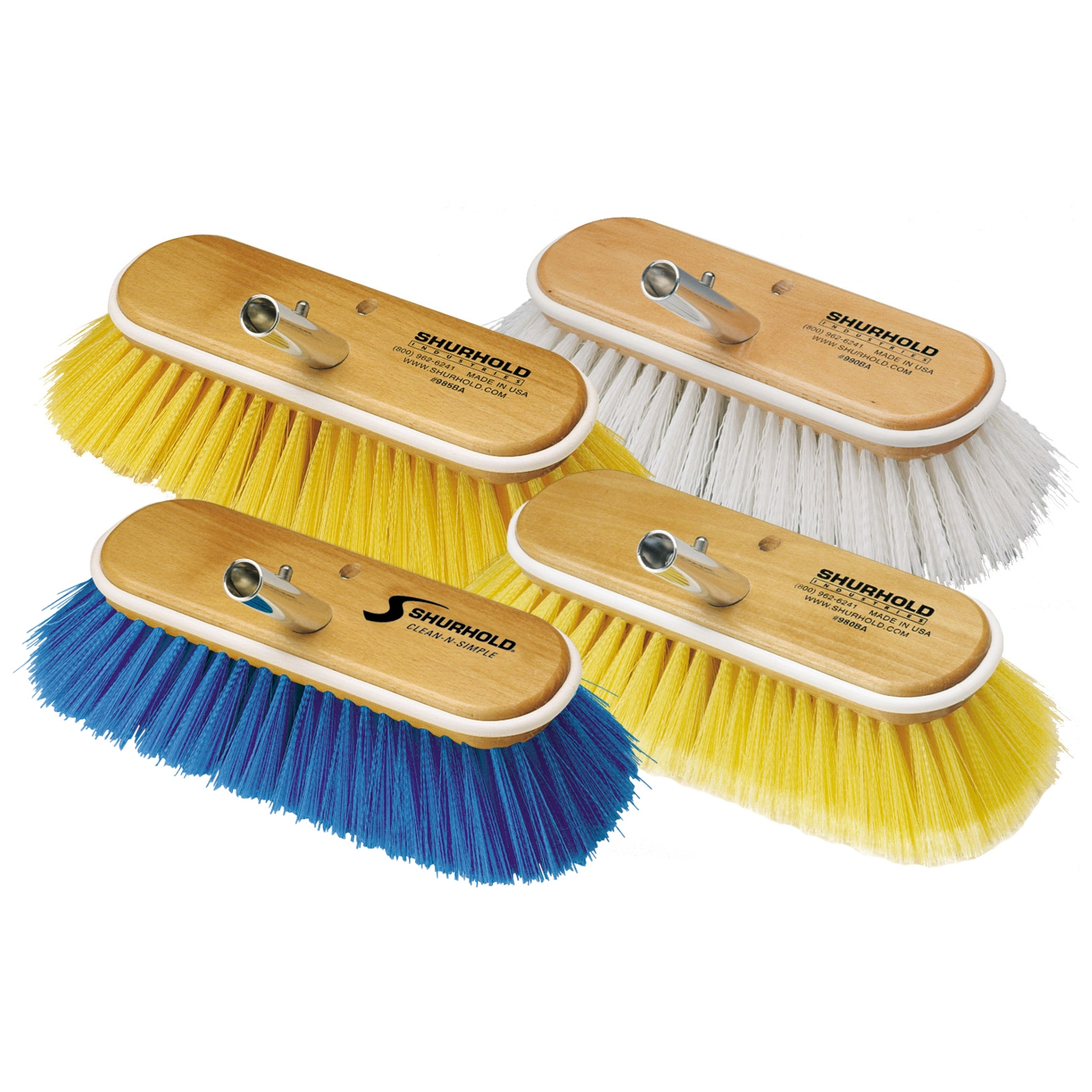 Deck Brushes - 10